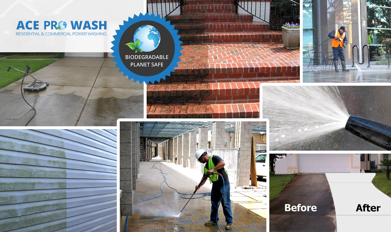 ACE ProWash Services, Residential Pressure Washing Services